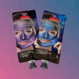 PUREDERM Galaxy Diamond Glitter Mask